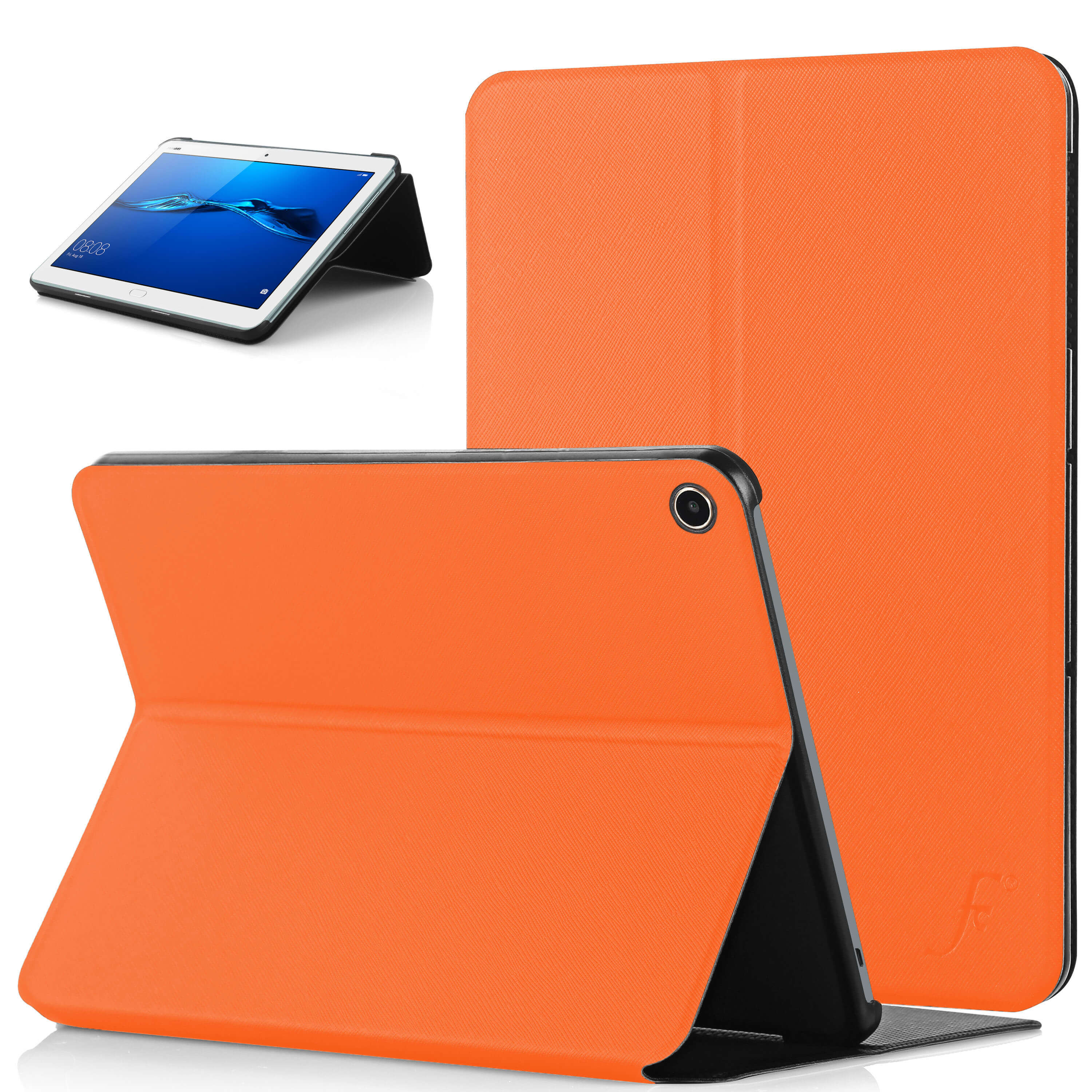sports shoes a5d67 f3f32 Forefront Cases® Huawei MediaPad M3 Lite 10 10-Inch Clam Shell Smart Case  Cover Stand (ORANGE)