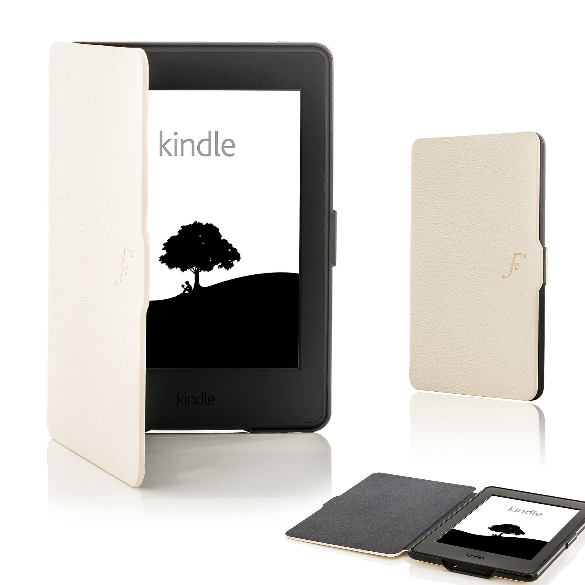 super popular 10b32 468aa Forefront Cases® Amazon Kindle Paperwhite Shell Smart Case Cover (WHITE)