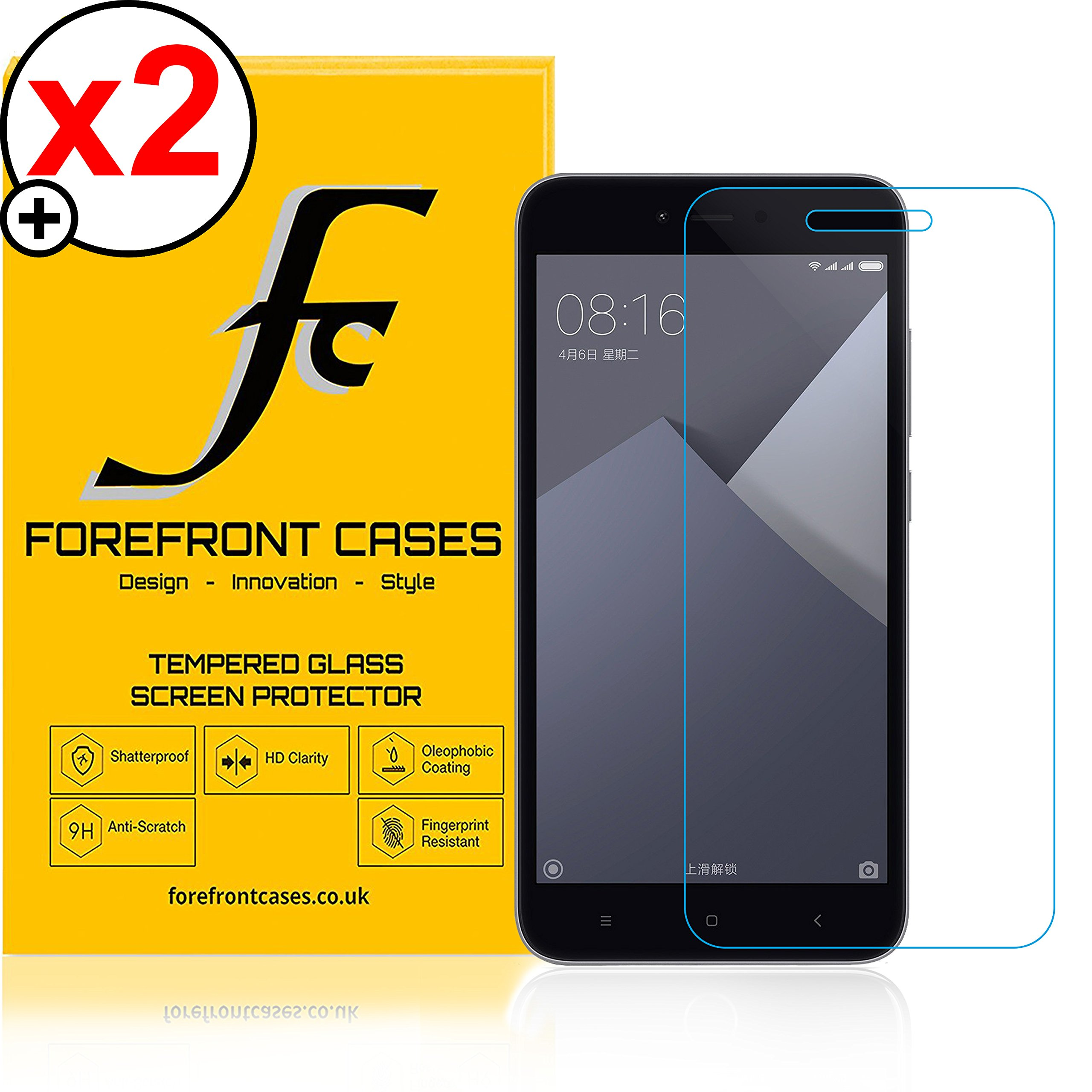 Forefront Cases Xiaomi Redmi Note 5a Hd Tempered Glass Screen Touchscreen Youre Viewing Protector Guard Pack Of 2 999 499 Inc