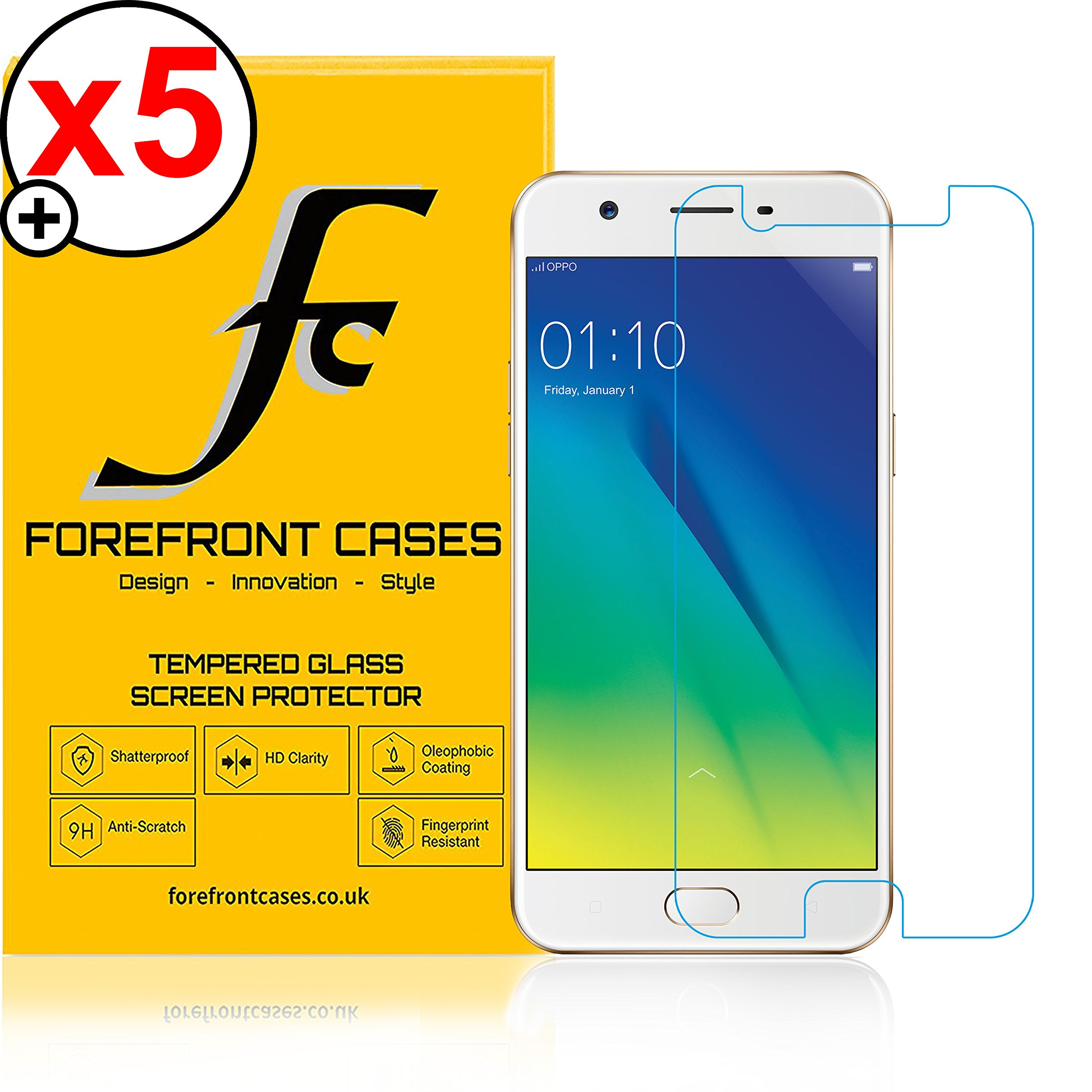 Forefront Cases Oppo A57 Hd Tempered Glass Screen Protector Guard Youre Viewing Pack Of 5 1999 949 Inc