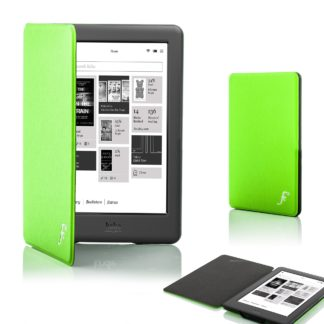 Forefront Cases® Kobo Glo HD Shell Smart Case Cover Stand (GREEN)