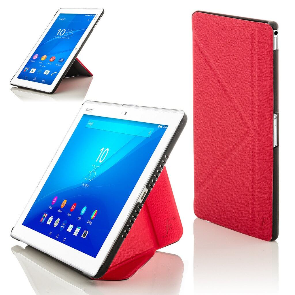 Forefront Cases Sony Xperia Z4 101 Origami Case Cover Stand Red