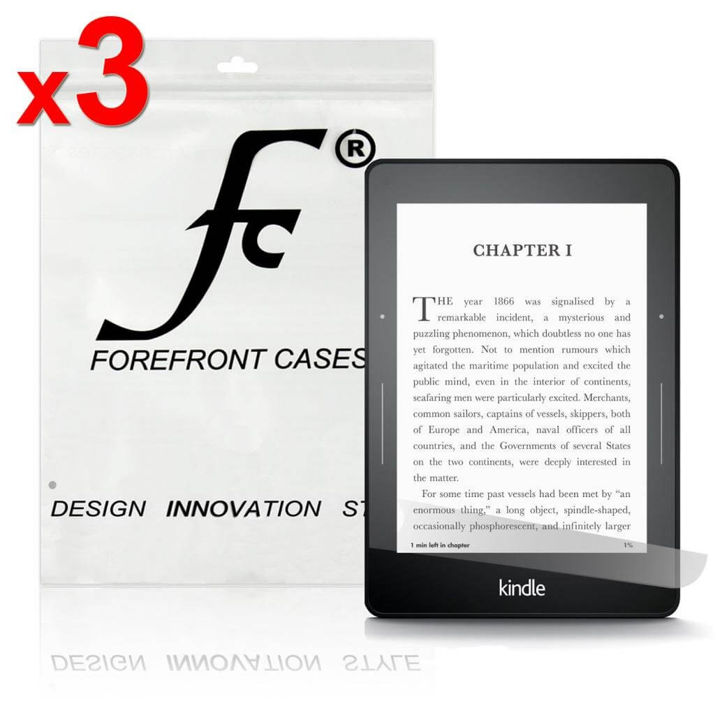 Forefront Cases® Amazon Kindle Voyage HD Screen Protector Guard (Pack of 3)