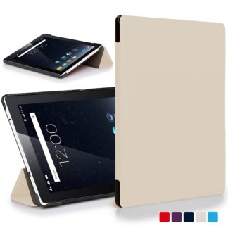 on sale eb065 67870 Forefront Cases® Dragon Touch S7 Leather Folding Smart Case Cover Stand  (WHITE)